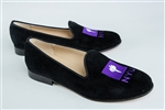 Women's NEW YORK UNIVERSITY Black Suede Loafer