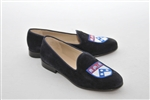 Women's University of Pennsylvania Blue Suede Loafer