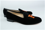 Women's Princeton University Black Suede Loafer