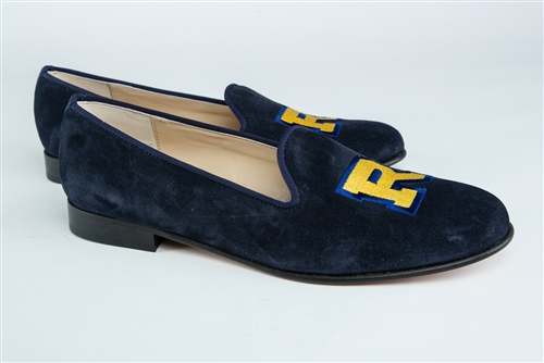 Women's ROLLINS COLLEGE Blue Suede Loafer
