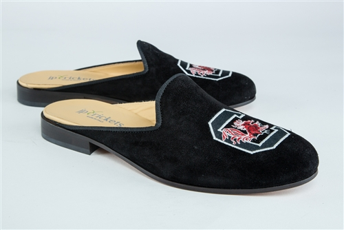 Women's SOUTH CAROLINA Black Suede Mule