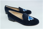 Women's SETON HALL UNIVERSITY Blue Suede Loafer