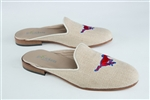 Women's SMU Natural Linen Mule