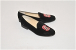 Women's STANFORD  Black Suede Loafer