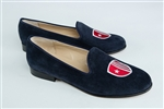 Women's STONY BROOK UNIVERSITY Blue Suede Loafer