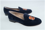 Women's Syracuse Blue Suede Loafer
