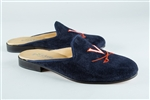 Women's VIRGINIA Blue Suede Mule