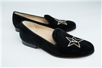 Women's VANDERBILT UNIVERSITY Black Suede Loafer