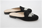 Women's WAKE FOREST Black Linen Mule