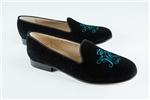 Women's of WILLIAM AND MARY Black Suede Loafer