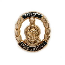Past President's Button