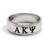 Men's Sterling Silver Wide-Band Ring