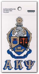 Large Coat of Arms Decal