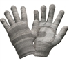 Winter Style Light Grey Winter Texting Gloves by Glider Gloves