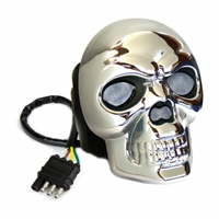 Lighted Hitch Cover Skull