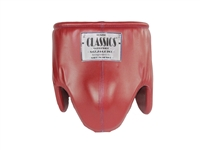 One-Color Leather Protective Cup (Male)