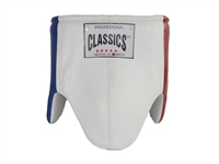Red, White and Blue Leather Protective Cup (Male)