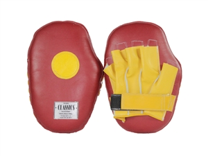 "Two-Color ""New Style"" Leather Punch Mitts"