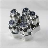 "J1-357/38 4"" Cylinder Range Block Kit"