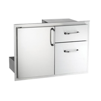 AOG 18 x 30 Door with Double Drawers