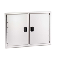 "Fire Magic Double Access Doors, 201/2""h x 30""w"