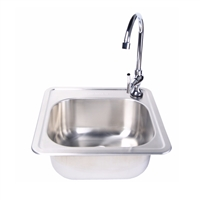 FireMagic Stainless Steel Sink