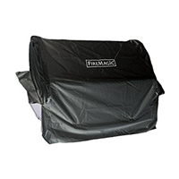Fire Magic Cover For Deluxe Portable Grill With Shelves Up