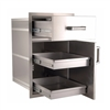 Fire Magic Flush Mounted Large Pantry Door/Drawer Combo