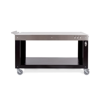 "Alfa Pizza 63"" W Table"