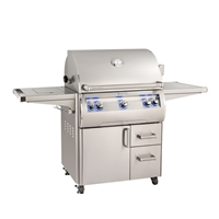 FireMagic Echelon Diamond E660S Stand Alone Grill with Side Burner