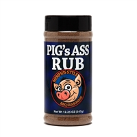 Pig's Ass Rub Memphis Style BBQ Seasoning - 12.25 oz.