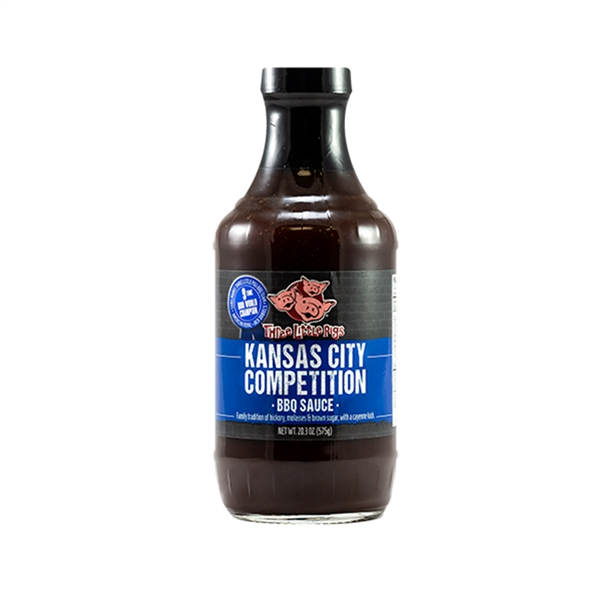 Three Little Pigs Kansas City Competition BBQ Sauce - 19.5 oz.