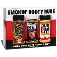 Old World Spices and Seasonings Smokin Booty Rubs Gift Pack