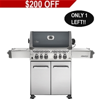 Napoleon Prestige 500 Grill with Rear and Side Infrared Burner