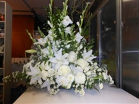 All White Sympathy Spray White Urn