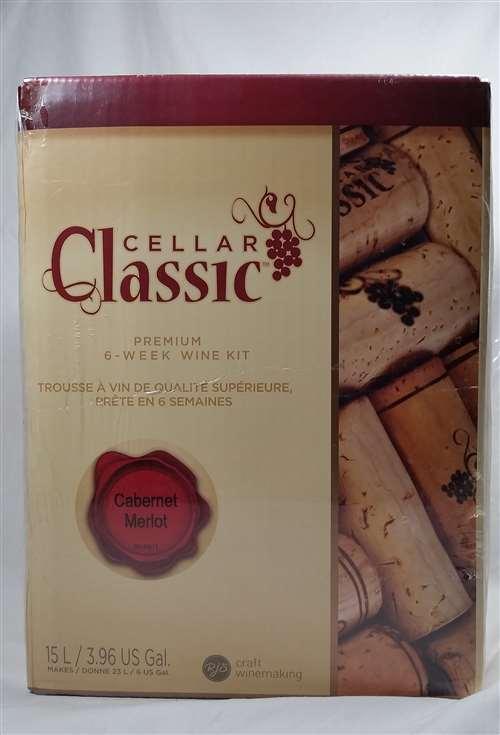 Cellar Classic Cabernet Merlot Wine Kit