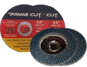 25 Cut Off Wheel / 25 Flap Disc - Cut Off Wheel / Flap Disc - All German Made Combo