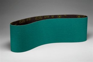 "3M 6"" Wide 577F Zirconia Sanding Belts"