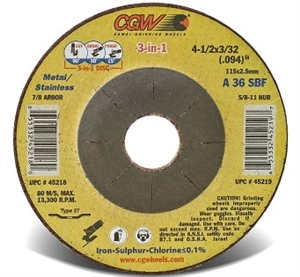 CGW 3-in1 Grinding Wheels