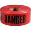 "Danger Tape Red 3"" x 1000' x 3MIL"