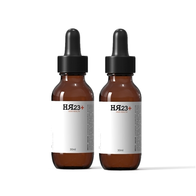 HR23+ Scalp Hair Loss Treatment with KGF Twin Pack