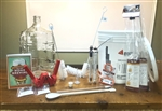 Platinum Beer Brewing Kit (bottles & Ingredients, no brewpot)