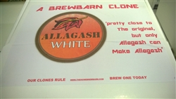Allagash White Clone beer kit