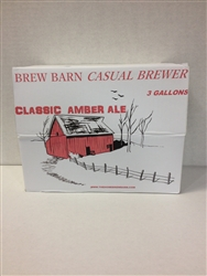 Amber Ale 3 gal Casual Brewer beer kit