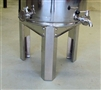 SS Stand for 200 liter tank fermenter