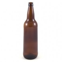 Beer Bottle Amber 22 oz 12/cs