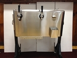 Jockey Box 2 tap Stainless Steel rental