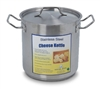 8.8 QT Cheese Kettle Stainless Steel
