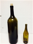 Bottle Green Bordeaux 5.0 L each