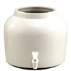 White Vinegar Crock w/Lid